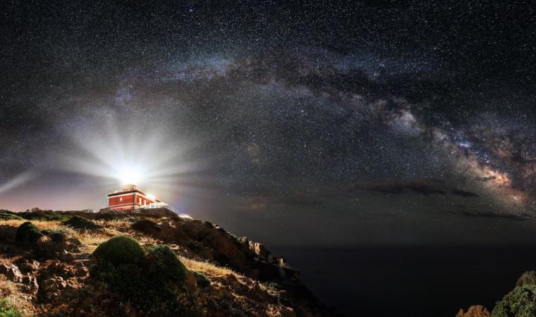 Faro di Capo Spartivento by night - Chia - Domusdemaria