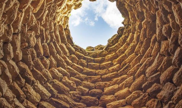 Cupola nuraghe Piscu - Suelli