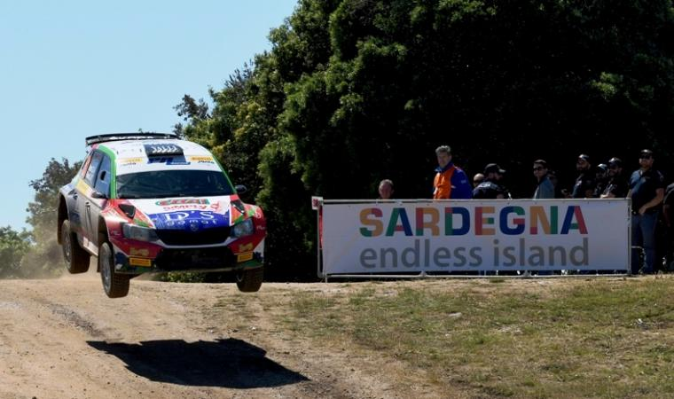 Seconda tappa Rally Italia Sardegna 2018