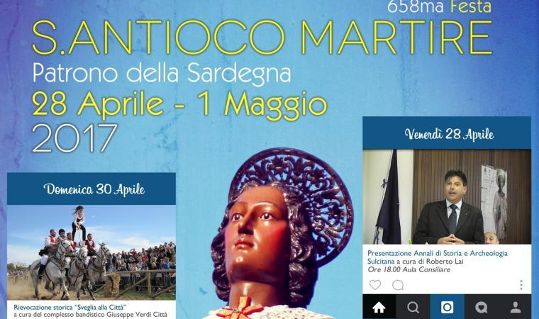 658ma Festa di Sant'Antioco Martire