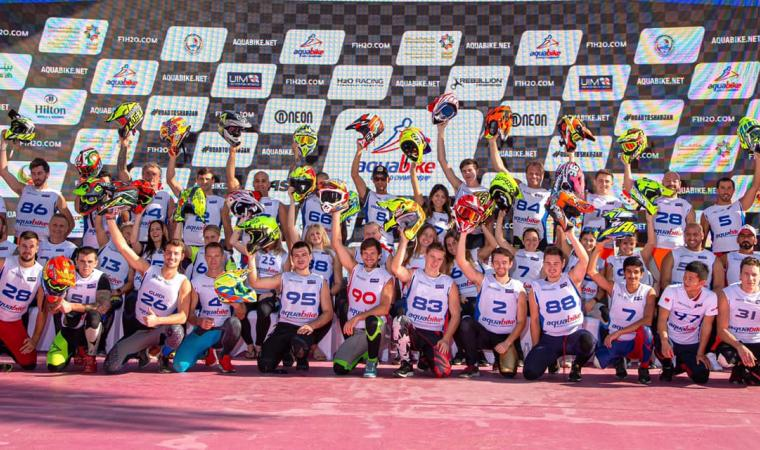 Team aqua bike