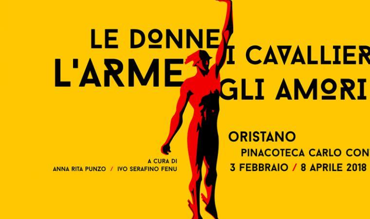 Le Donne, i Cavallier, L'Arme, gli Amori (locandina della mostra)