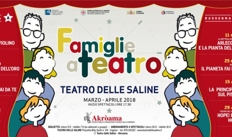 Famiglie a Teatro 2018 (locandina)