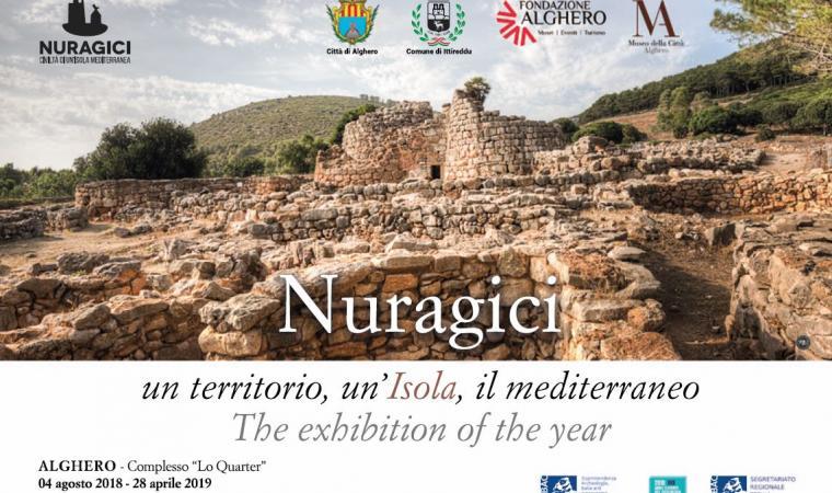 Nuragici mostra Alghero - Logo