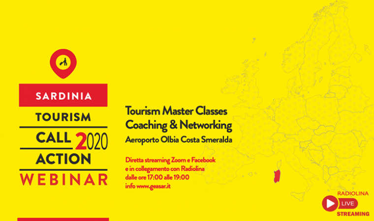 Sardinia Tourism Call2Action Master Classes Webinar