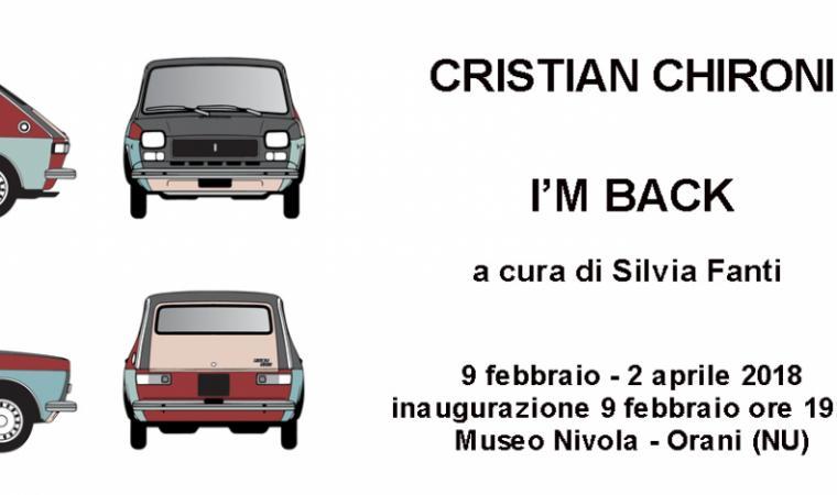 I'm back di Christian Chironi (locandina)