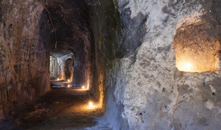 Anfiteatro Romano, passaggio sotterraneo  - Cagliari