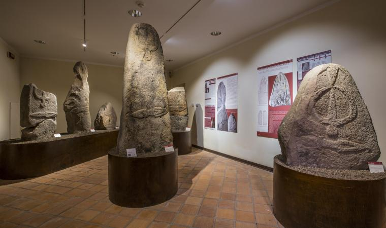 Museo di Laconi, menhir