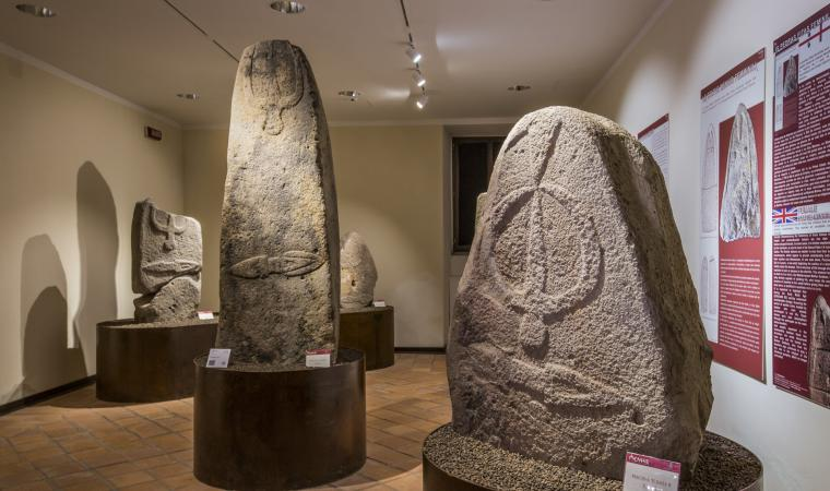 Statue Menhir, museo di Laconi