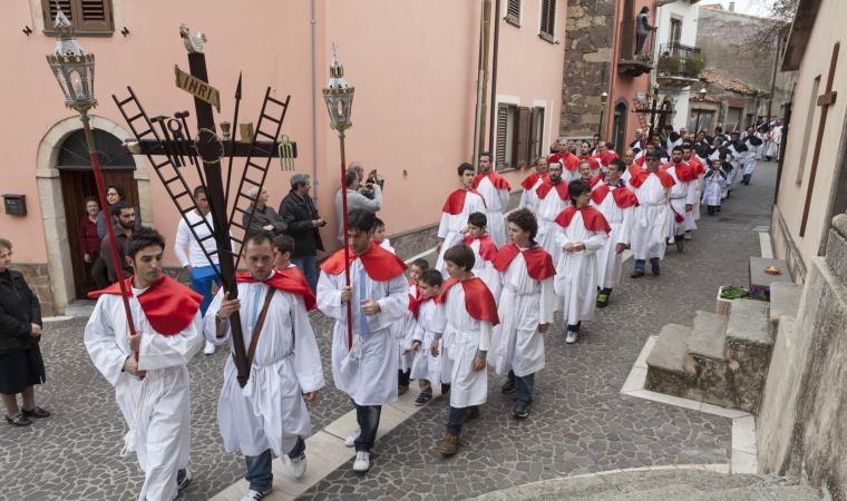 Rito della Settimana Santa - Scano di Montiferro