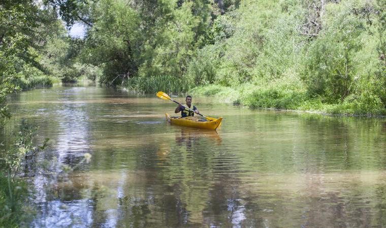 Su Gologone, canoa