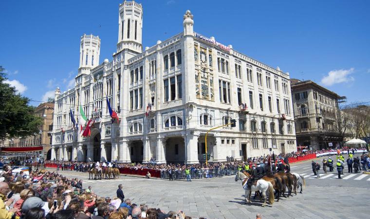 Palazzo civico, via Roma
