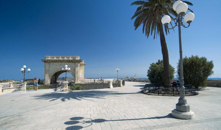 Bastione Saint Remy, terrazza - Cagliari