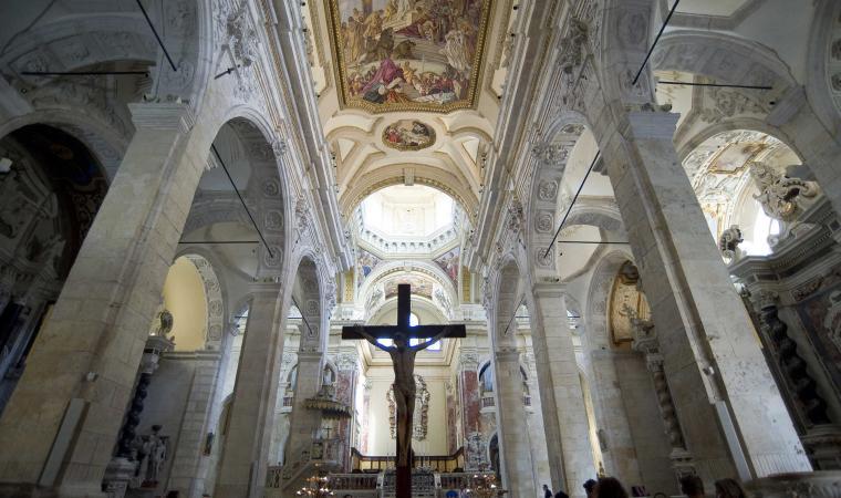 Duomo di Cagliari, interno