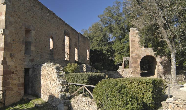Resti del palazzo  Aymerich  - Laconi