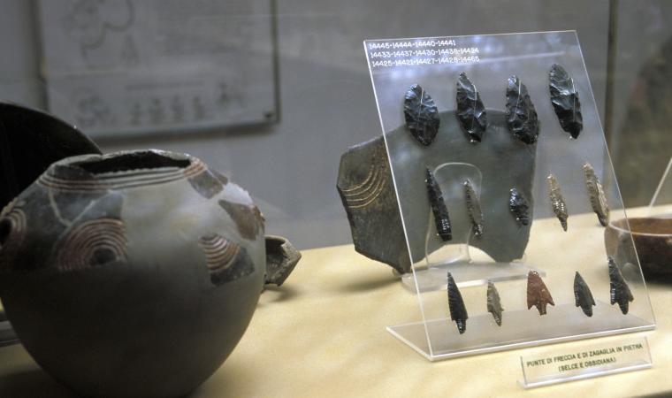 Museo nazionale G.A. Sanna, esposizione interna  - Sassari