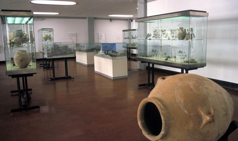 Museo nazionale G.A. Sanna, sala interna  - Sassari