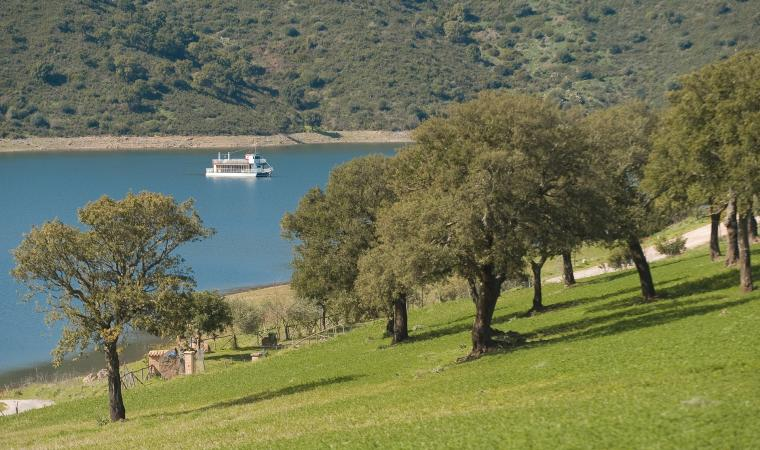 Lago Flumendosa - Nurri