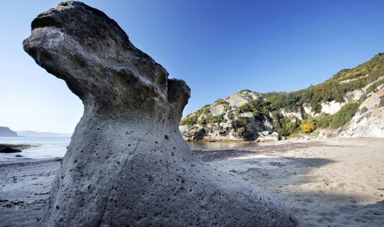 Bosa, spiaggia Compoltitu