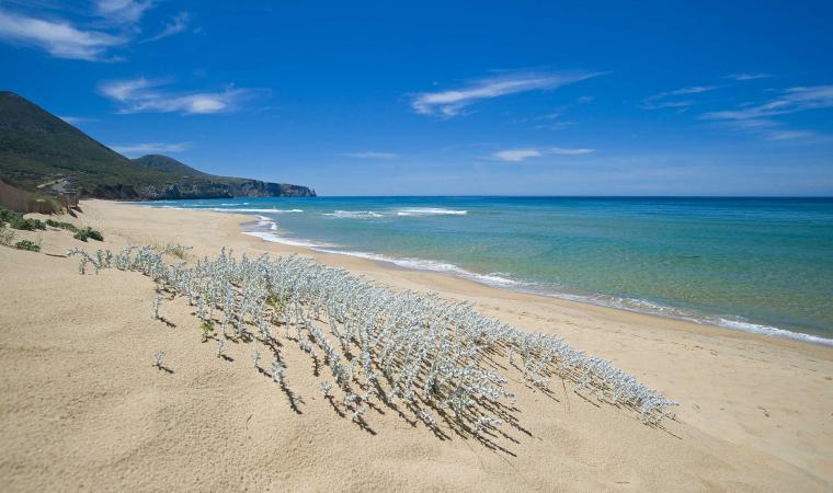 Mare e spiaggia di Buggerru