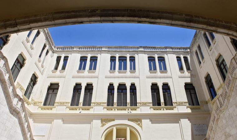 Municipio, cortile interno