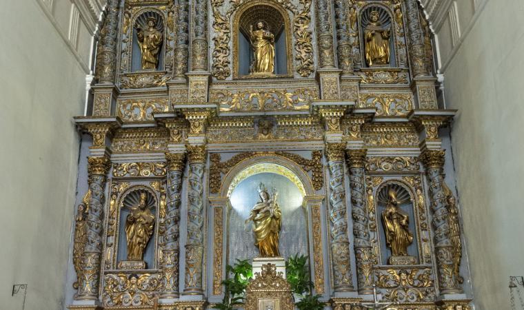 Chiesa del Rosario, cappella - Sassari