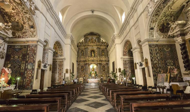Chiesa del Rosario, interno - Sassari