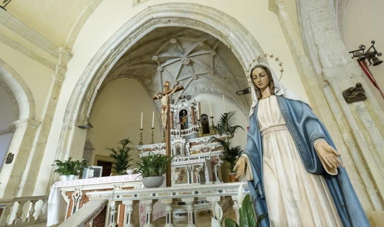 Chiesa di san Giacomo, interno - Cagliari