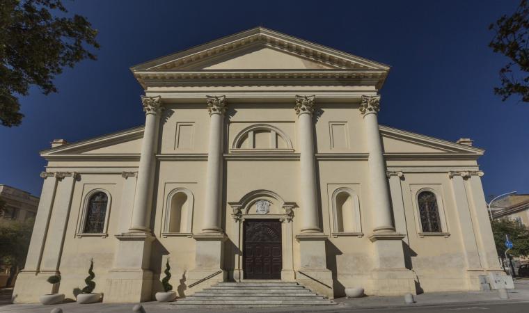 Chiesa di san Giuseppe, facciata esterna - Sassari