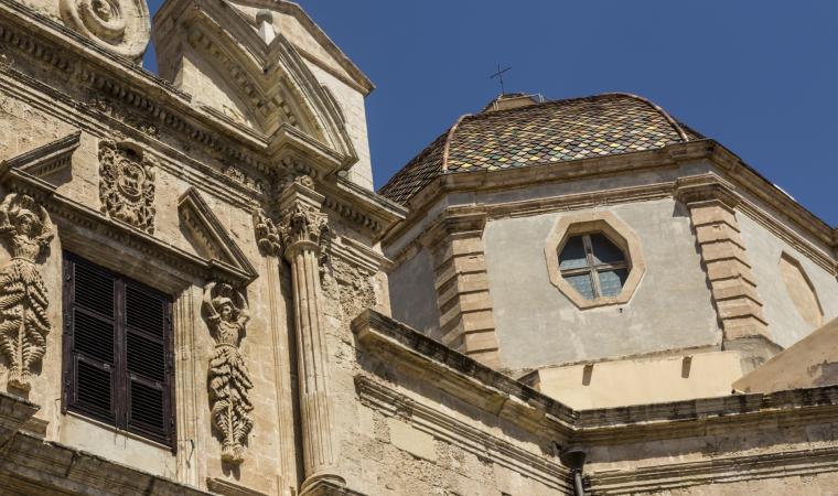 Complesso gesuita di san Michele, facciata esterna