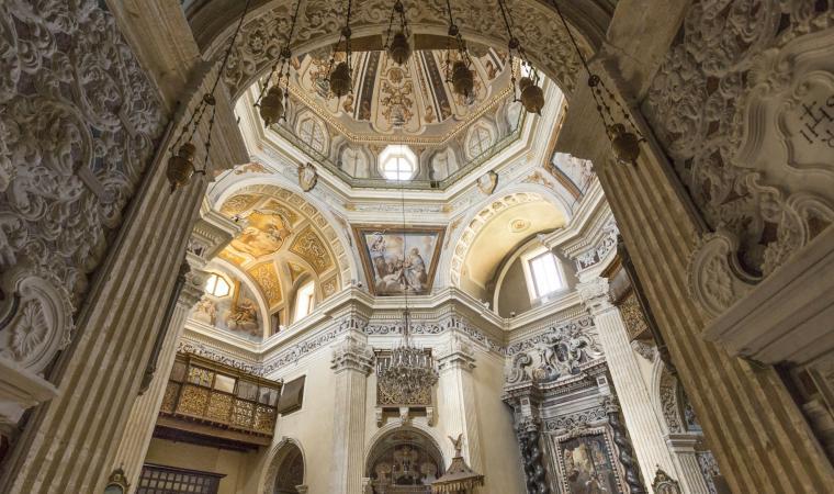 Complesso gesuita san Michele, interno chiesa