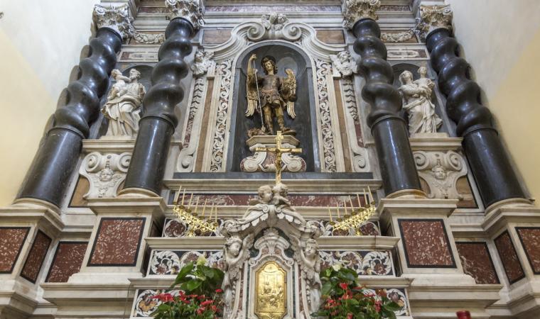 Complesso gesuita san Michele, altare centrale