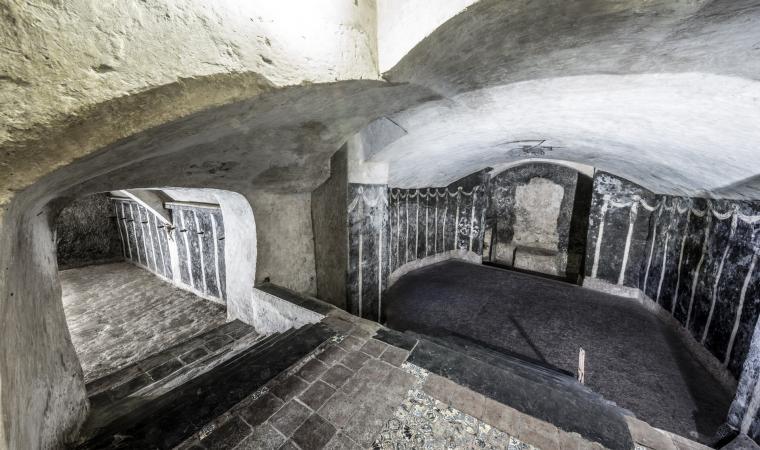 Cripta di san Sepolcro, camera voltata