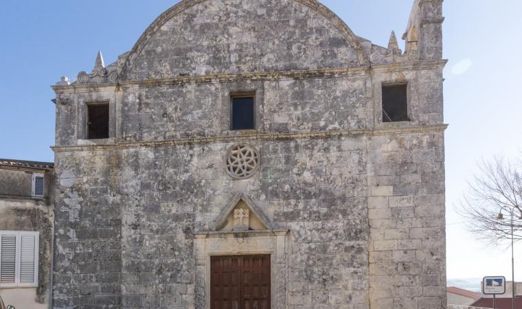 Chiesa di Santa Croce - Florinas