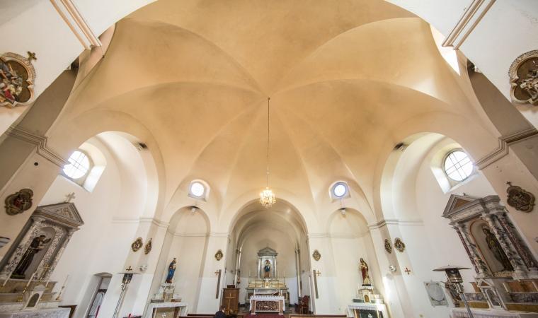 Chiesa di santa Maria della Neve, interno
