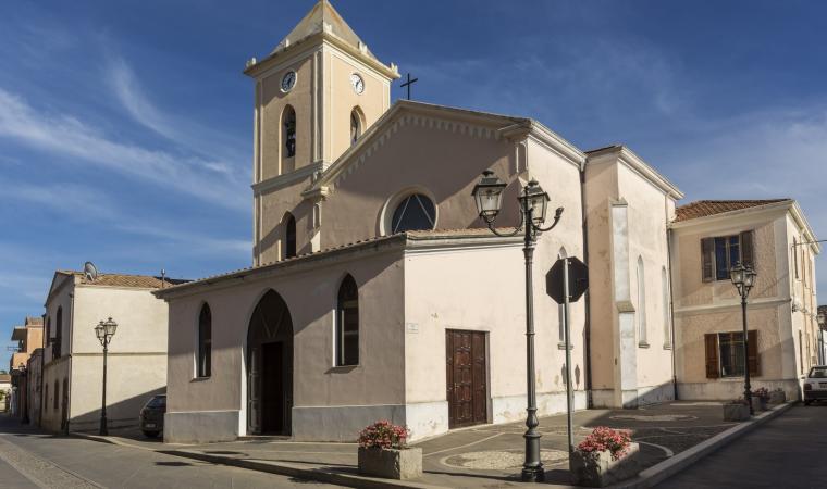 Chiesa san Pietro apostolo - Giba