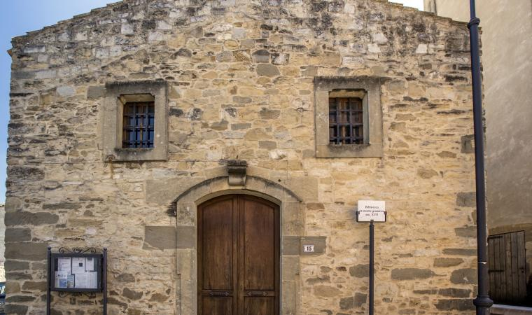 Biblioteca monte granatico - Gonnoscodina