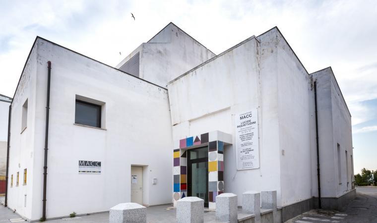 Museo d'arte contemporanea, edificio esterno