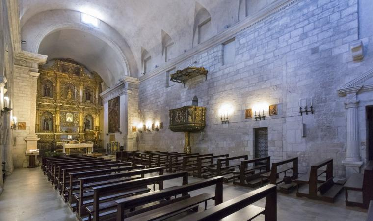 San Pietro di Silki, interni - Sassari