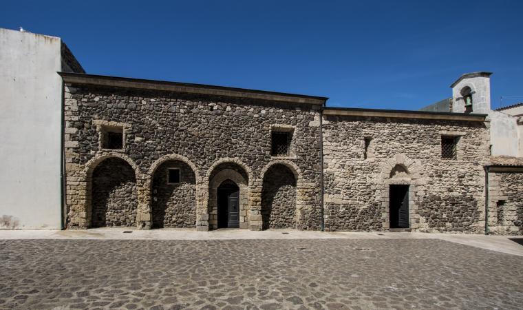 Santa Maria delle Grazie, esterni - Castelsardo
