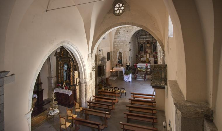 Santa Maria delle Grazie, interno  - Castelsardo