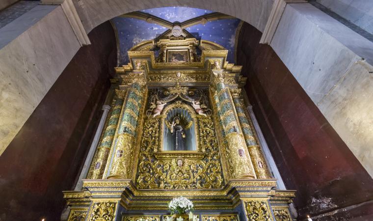 Santa Maria di Betlem, interno - Sassari