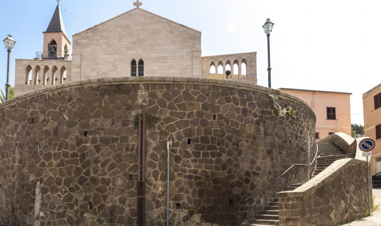 Chiesa san Basilio Magno, esterno - Sennori