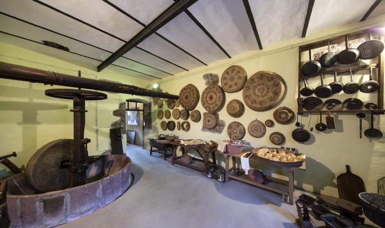 Casa museo Tiu Virgiliu, interno - Suni