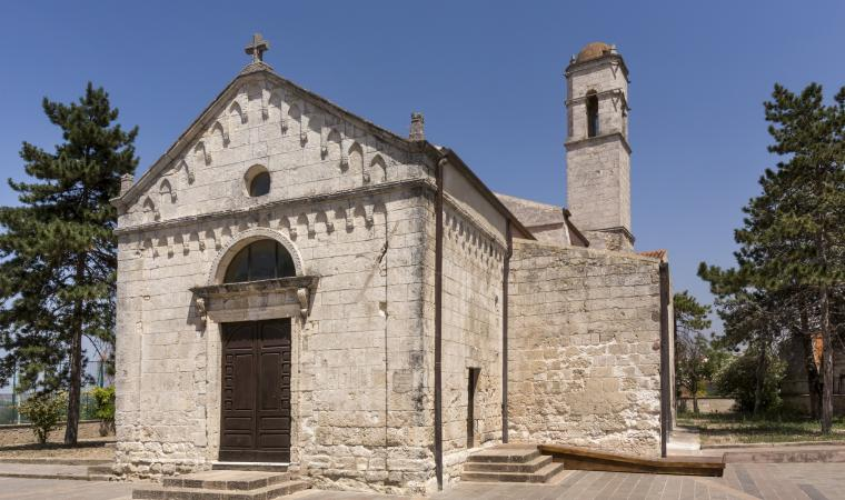 Chiesa Santa Croce, facciata esterna - Usini