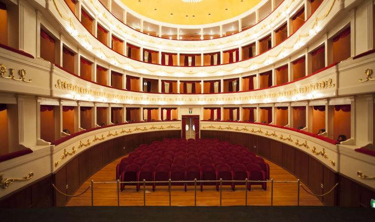 Teatro Civico, interno - Sassari