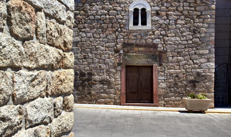 Scorcio centro storico - Berchidda