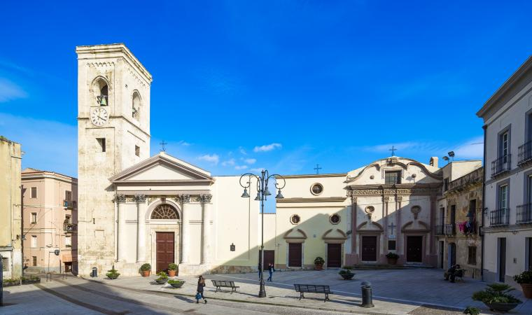 Piazza  e chiesa di san Giacomo - Cagliari