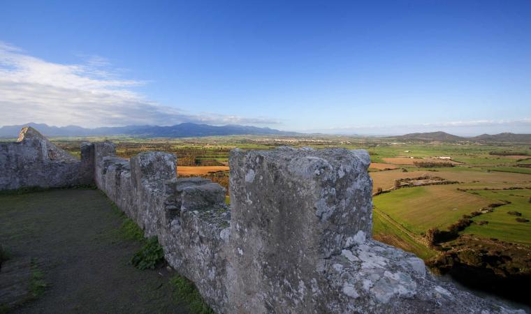 Veduta dal Castello Acquafredda
