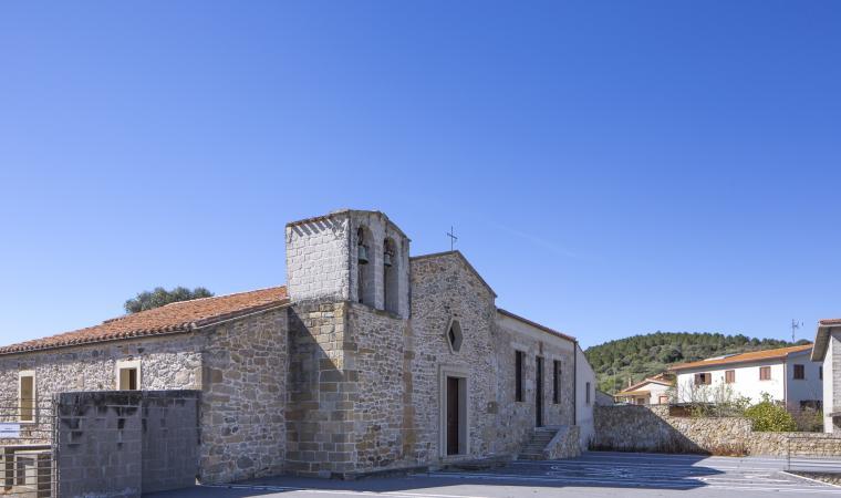 Chiesa di santa Maria di Monserrato - Pompu